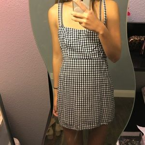 Brandy Melville gingham mini dress